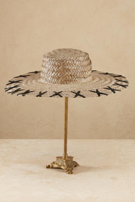 Cross Hatch Wide Brim Hat