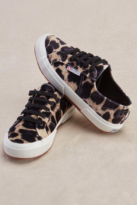 Superga Leopard Sneakers - Velvet