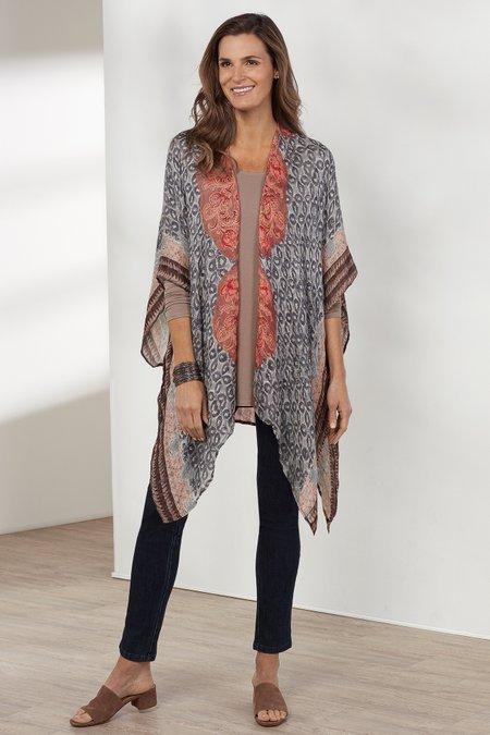 Cambric Tile Kimono Topper