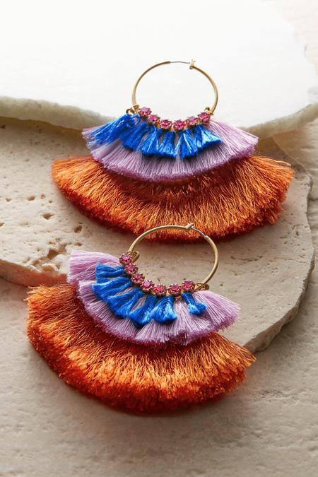 Cha Cha Hoop Earrings