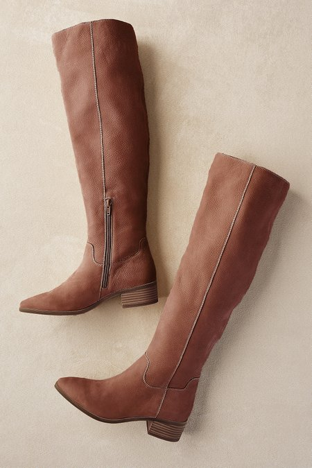 485b46a7409 Lucky Brand Kitrie Boots - Suede Tall Boots