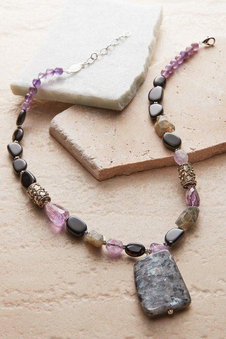 Max Stone Pendant Necklace