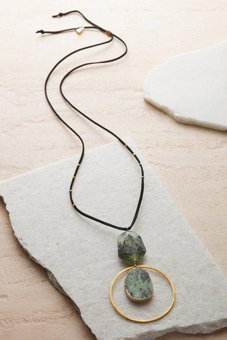 Jezebel Drop Ring Necklace