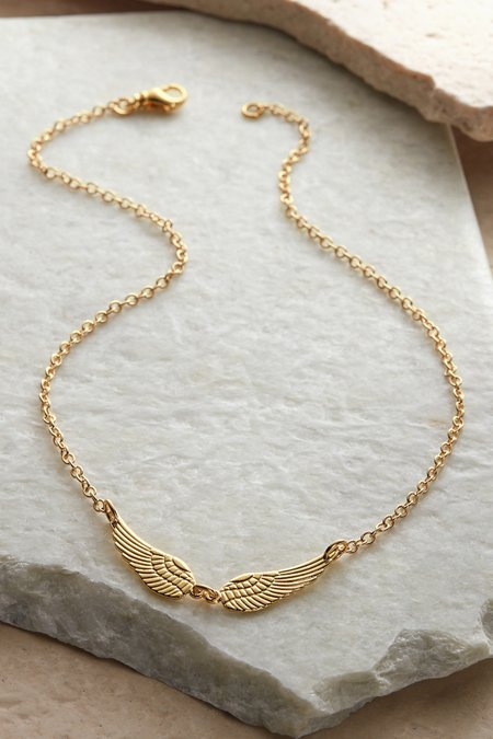 Dina Double Wing Necklace