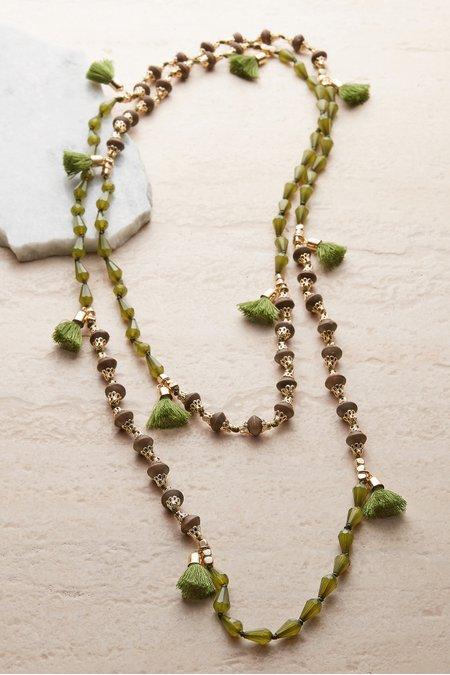 Taylor Tassel Necklace