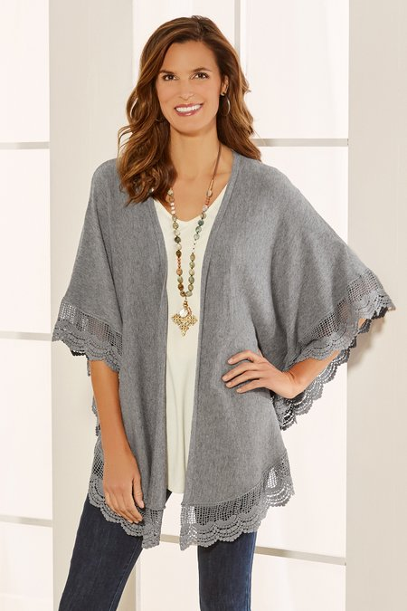 Lacey Cardigan Topper