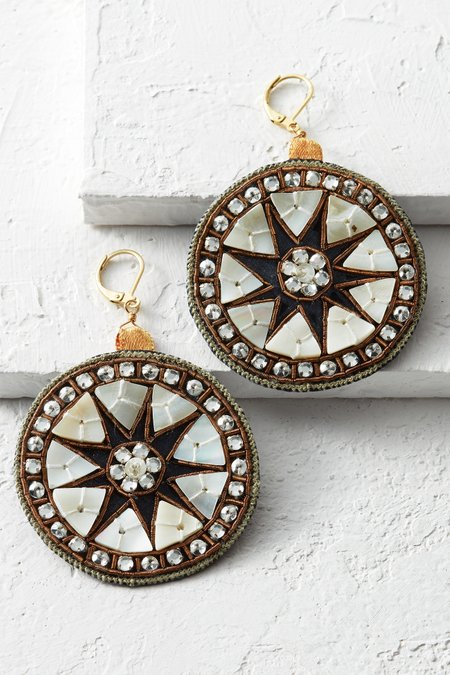 Hindi Mandala Earrings