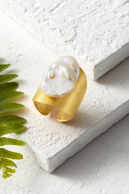 Keisha Pearl Ring