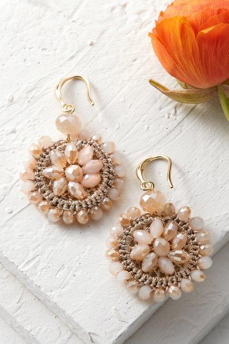 Crochet Flower Earrings