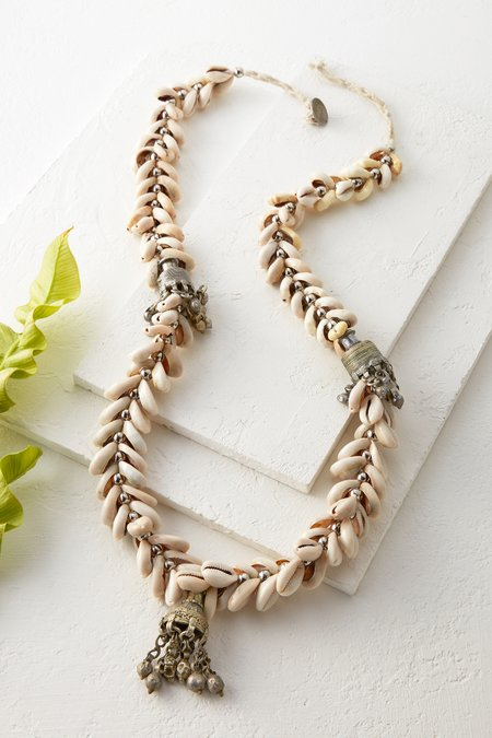 Ancient Cowrie Shell Necklace