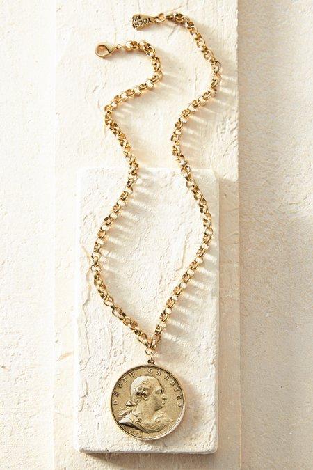 Garrick Coin Necklace