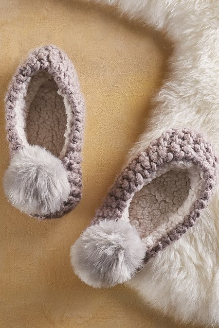 Ballerina Slipper Socks