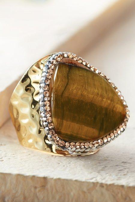 Genevieve Adjustable Ring