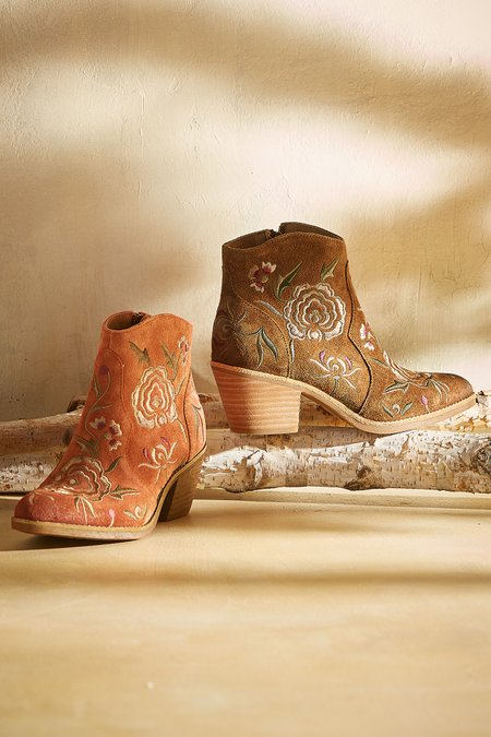 Westmont Embroidered Bootie