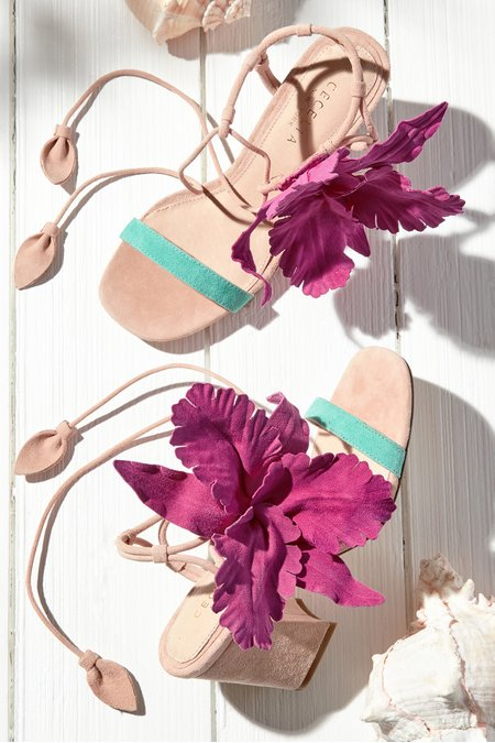 Cecelia Hibiscus Heels