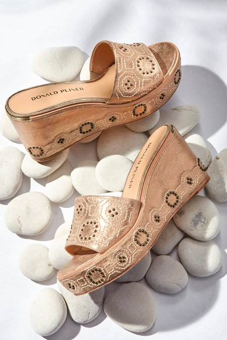 Indie Embellished Wedge
