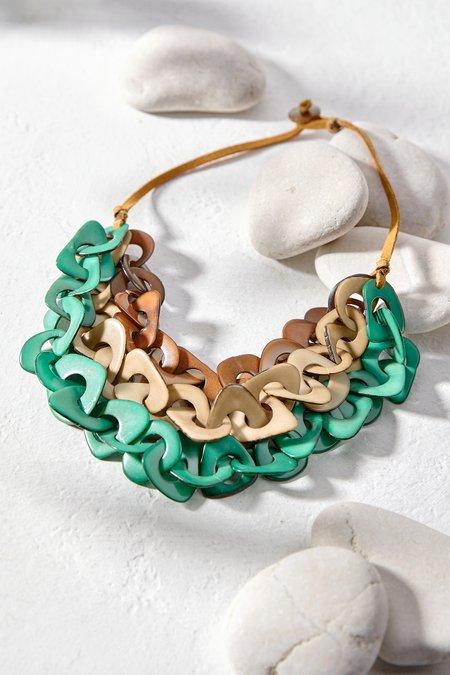 Multi-Layer Tagua Necklace