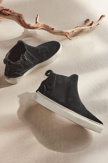 Leopard High-Top Slip-On Sneaker