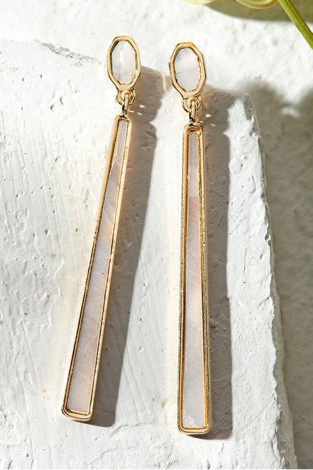 Sliver of Shimmer Earrings