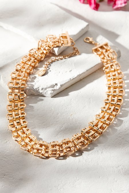 Chain Band Necklace