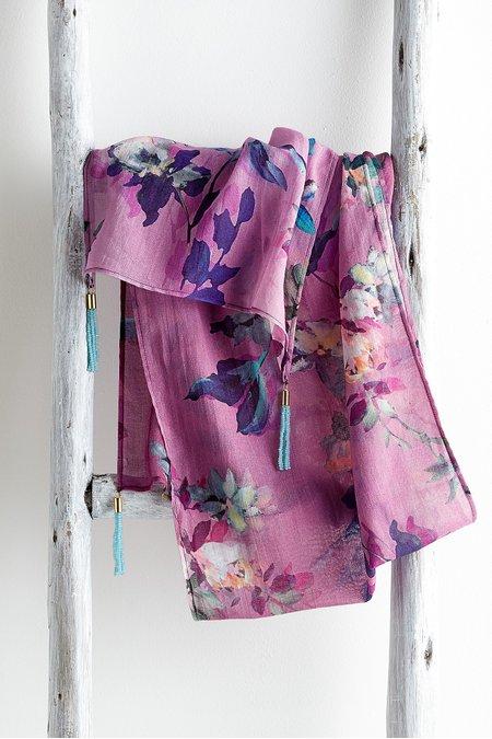 Victorian Lilac Scarf