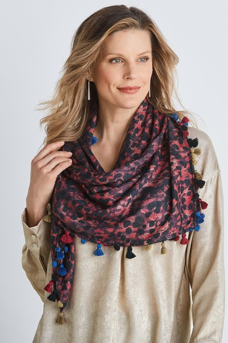 Abstract Murano Scarf