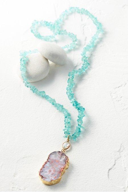 Jasmine Pendant Necklace