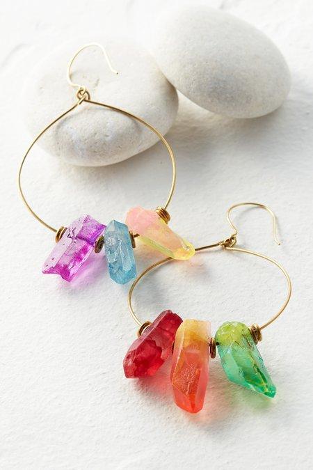 Aura Crystal Earrings