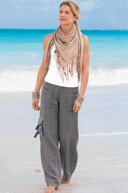 Weekend Linen Pants I