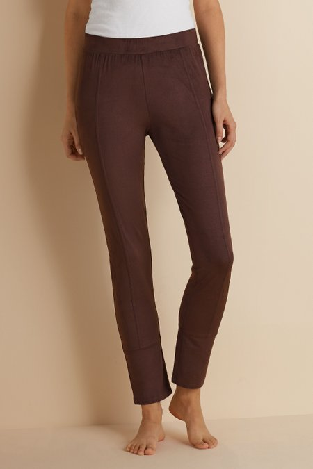 Petites Micro Suede Stretch Leggings