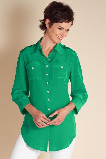 Silk Shapely Shirt