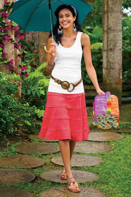 Petites Summer Fun Skirt