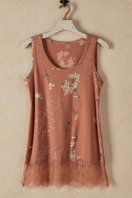 Women Madame Lace Tank