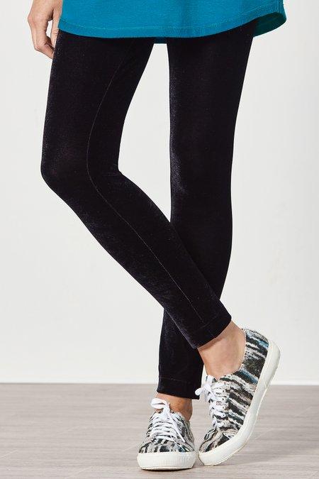 Stretch Velvet Knit Leggings