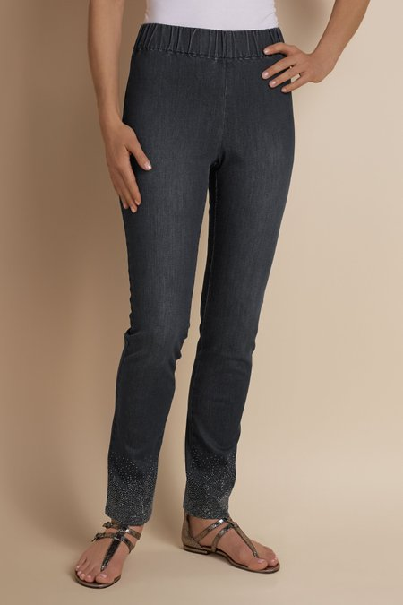 Dazzle Denim Metro Leggings