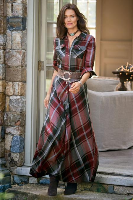 Petites Terrific Tartan Dress