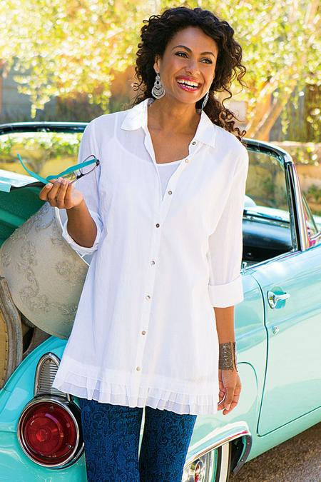 Perfect To Layer Shirt & Cami