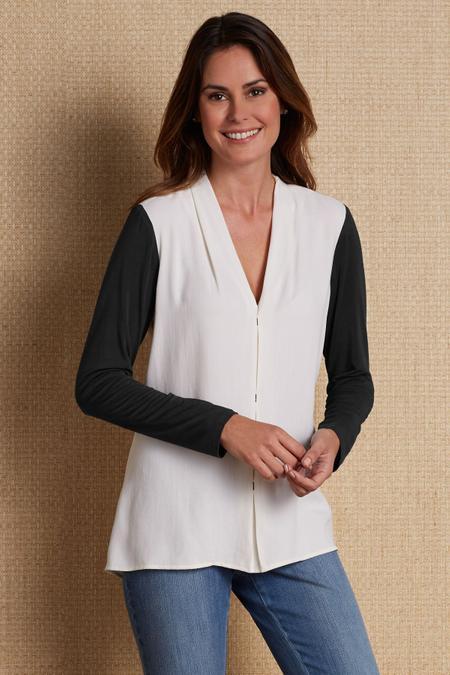 Silk Sensibility Shirt