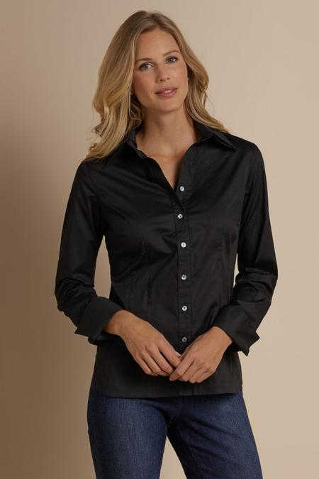 Sydnee Shirt Women S French Cuff Shirt Soft Surroundings Outlet
