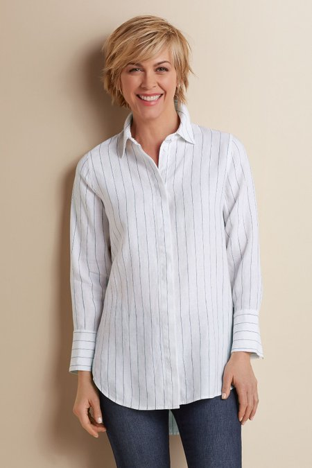 Provence Pinstripe Shirt