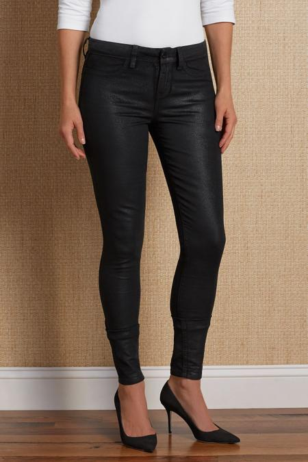Yummie Tummie Velveteen Skinny Jeans