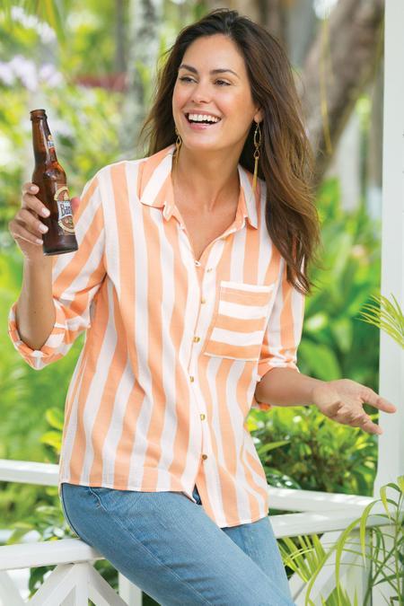 Capri Stripe Shirt