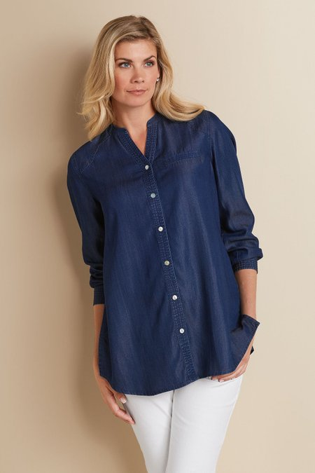 Petites Tayla Tencel Shirt