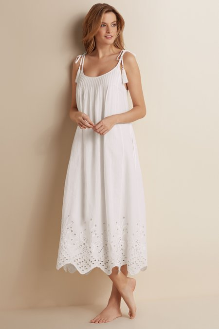 Eyelet Gown
