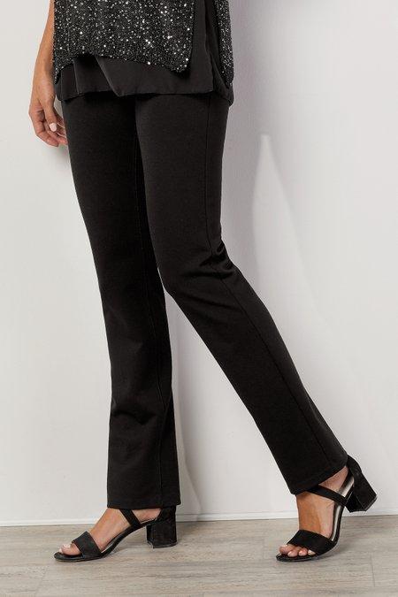 Women Slimsations Ponte Straight Leg Pants