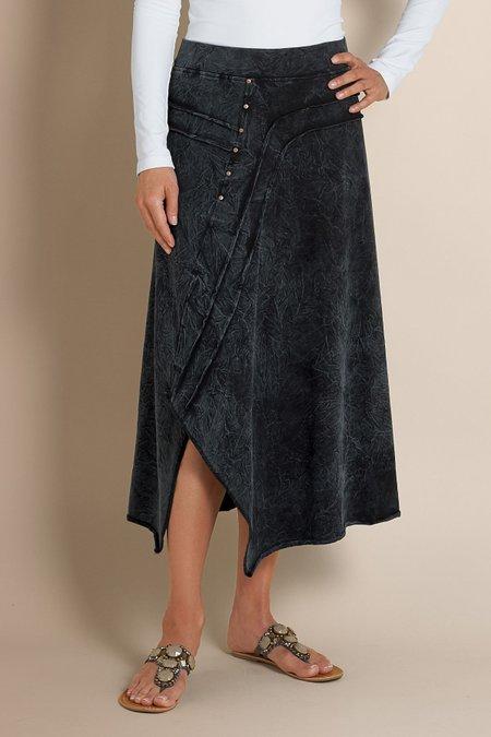 Indigo Knit Skirt I