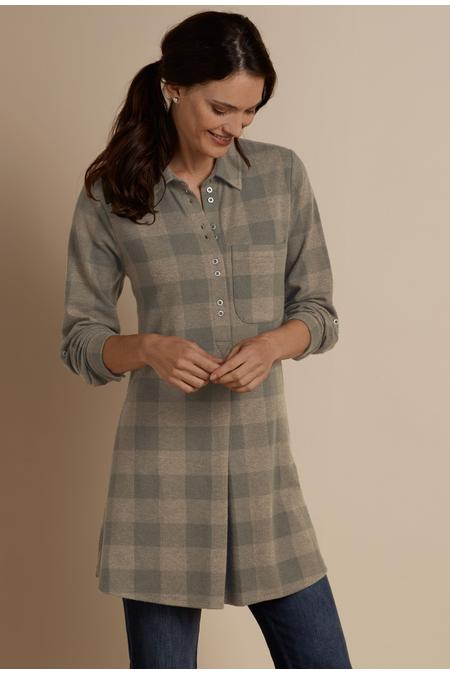 Mad About Plaid Tunic I