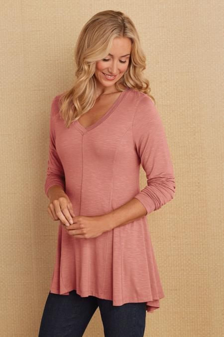 Perfect A-Line Long Sleeve Top