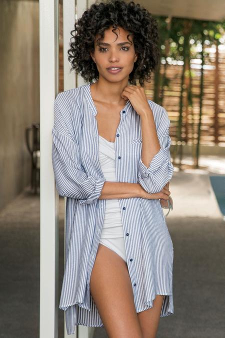 Andie Stripe Shirt