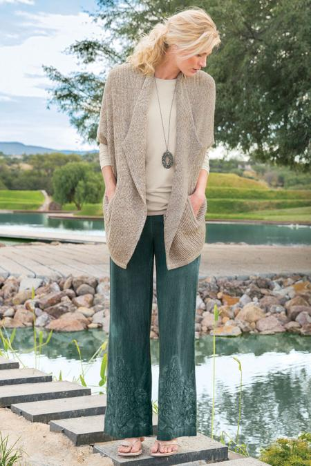 Miramar Wide Leg Pants Soft Surroundings Outlet